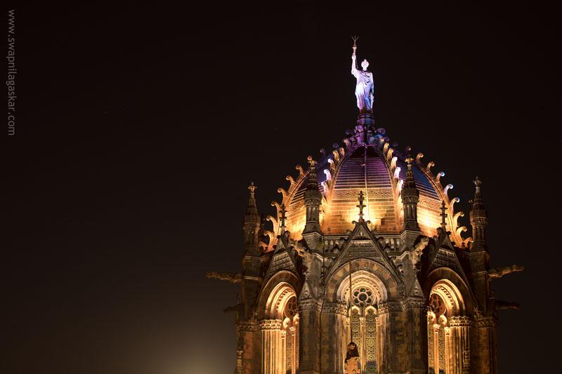 The Central Dome of Chhatrapati Shivaji Terminus