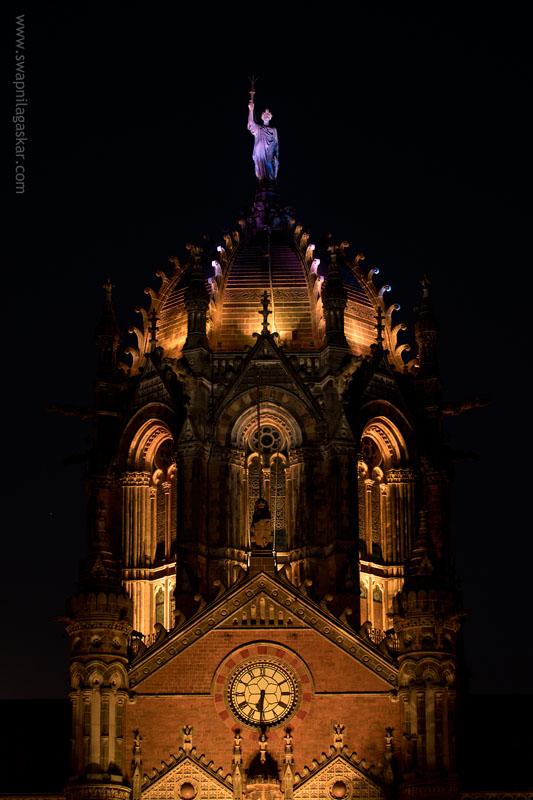 The Statue of Progress, Chhatrapati Shivaji Terminus