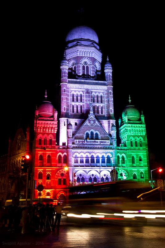 Mumbai Municipal Corporation building opposite the Chhatrapati Shivaji Terminus